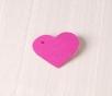 Cardboard Heart Pendant 10 ut.
