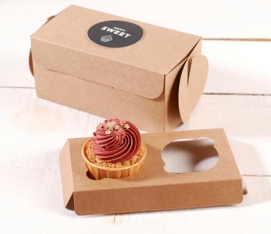 Holder 2 cupcakes