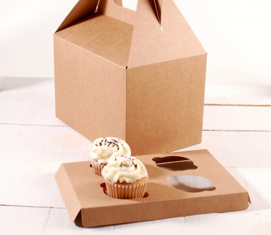 Holder Picnic L 4 cupcakes