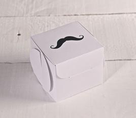 Mustache gift box