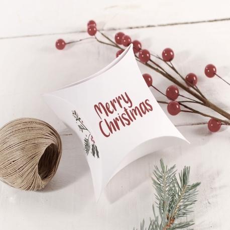 Caja regalo de joyería para Navidad