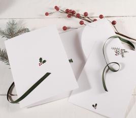 Ordner für Weihnachtskarten