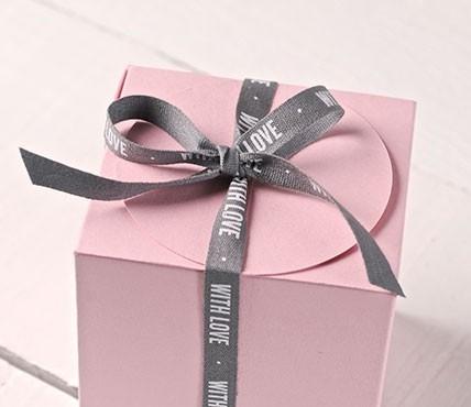 Cinta de regalo WITH LOVE