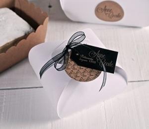 Caja para pastelitos pequeños