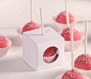 Cajas para un cake pop