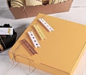 Caja sencilla para bombones