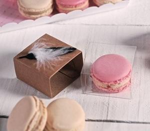Cajas individuales para macarons