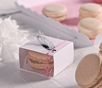 Cajas para entregar un macaron