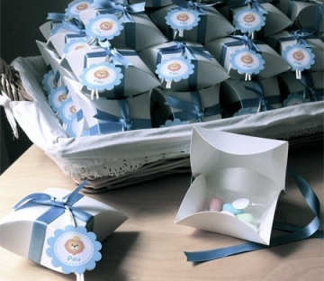 Favour box for Christening parties