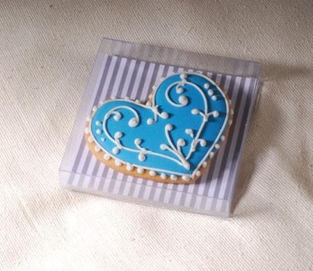 Cajita transparente para cookies