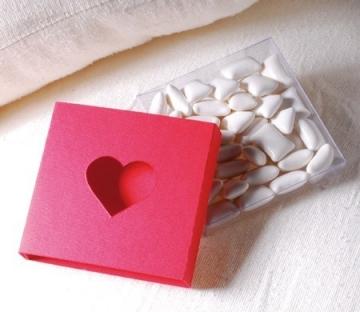 Caja troquelada para San Valentín