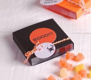 Caja araña para Halloween
