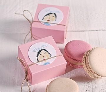 Single macaron boxes