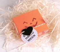 Caja caramelos faja troquelada