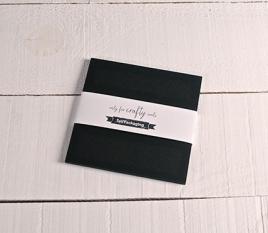 Cartulinas negras 16,5x16,5cm