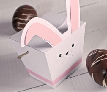 Scatola a forma di coniglio