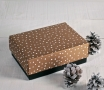 Christmas gift box with lid