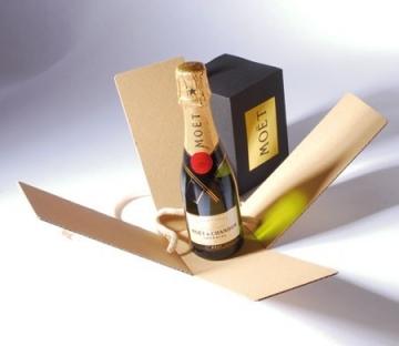 Caja para benjamín de champaign
