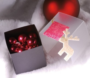 Square box for Christmas presents