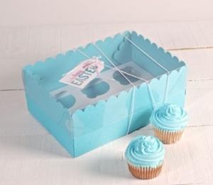 Scatola alta per 6 cupcake