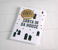"Christmas wall sticker ""Santa in da house"""