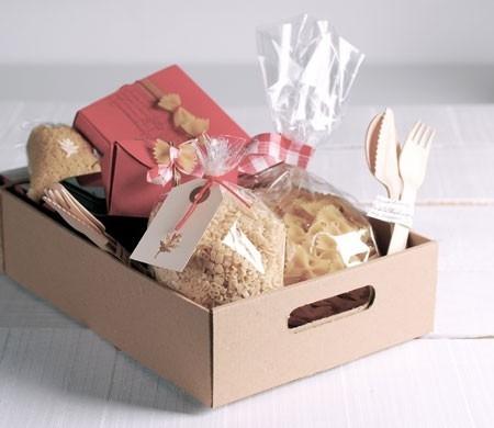 Scatola per cesti e lotti regalo selfpackaging - Decorar cestas de mimbre paso a paso ...