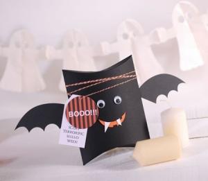 Scatola pipistrello per Halloween