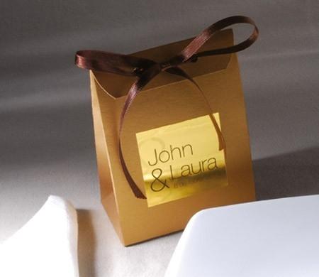 Bag for wedding favours