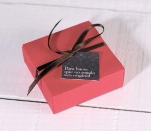Cajita para regalos pequeños