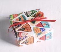 Caja regalo cuadrada simple