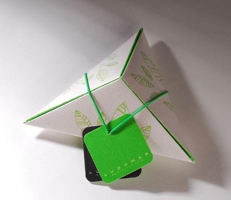 Triangular gift box