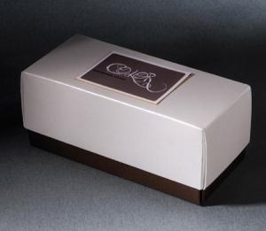 Caja bicolor para regalo