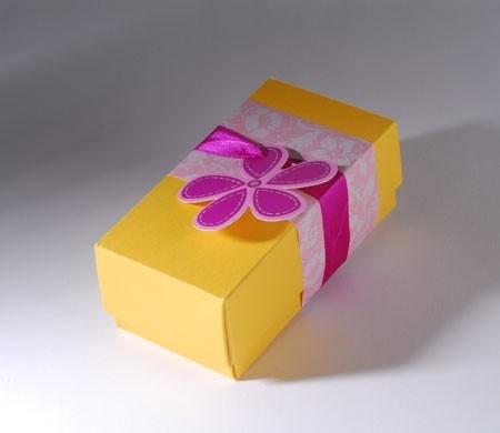 Original and rectangular gift box