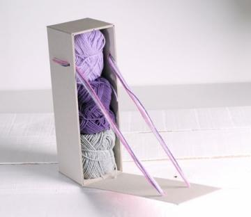 Caja para regalo cartón reciclado