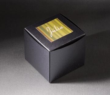 Caja automontable para regalos de empresa