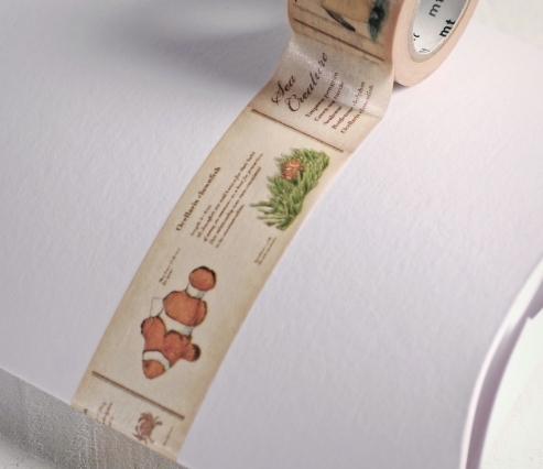 Beige Fish Washi Tape