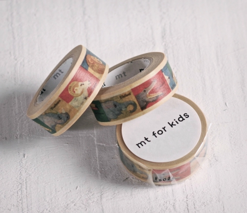 Washi Tape Cuadros Animales