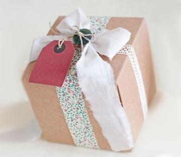 Little square box for presents