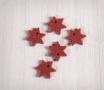 Kit de 5 stelle in feltro