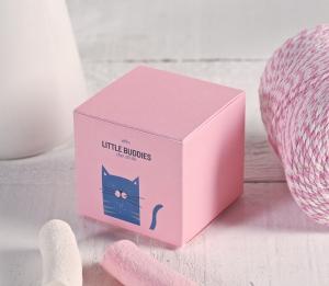 Square custom gift box
