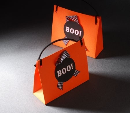 Bolsita para caramelos en Halloween