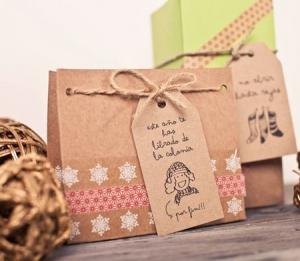 Bag for Christmas gifts