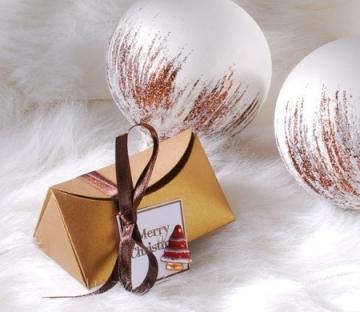 Cajita elegante para Navidad