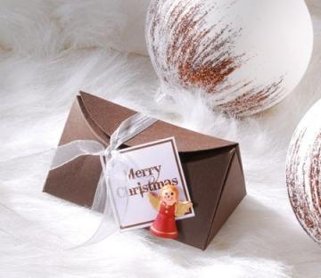 Cofre de cartón para regalar
