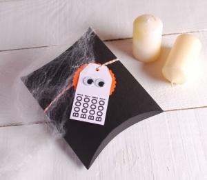Scatolina decorata per Halloween