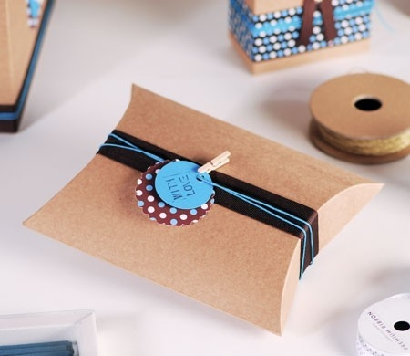 Little pillow box to give as a present