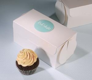 Cajita para tiendas de cupcakes