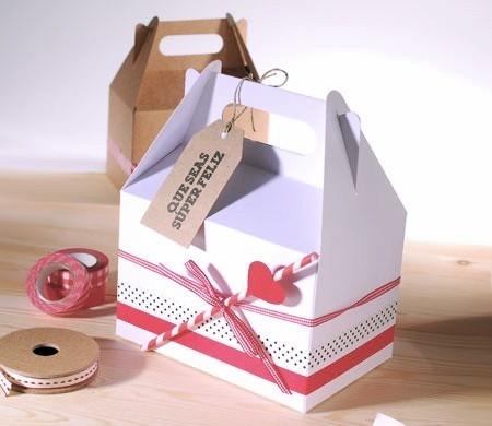 Caja de regalo tipo picnic