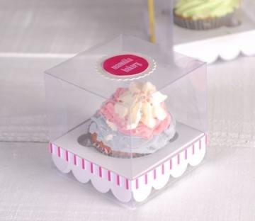 Scatolina per cupcake per matrimoni