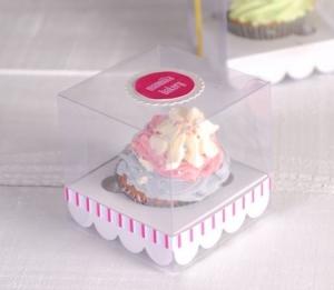 Kleine Cupcake-Box für Hochzeiten
